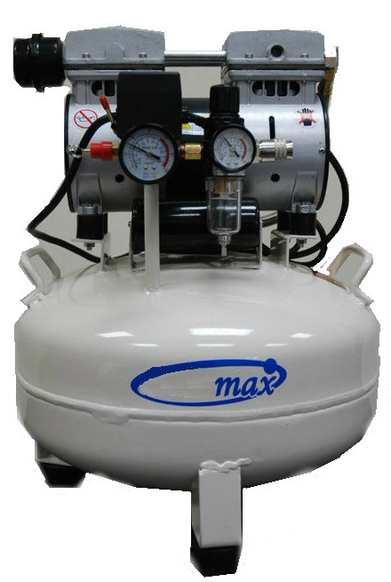 Max-Air Dental Oil-Less Dental Air Compressor Model 70-8