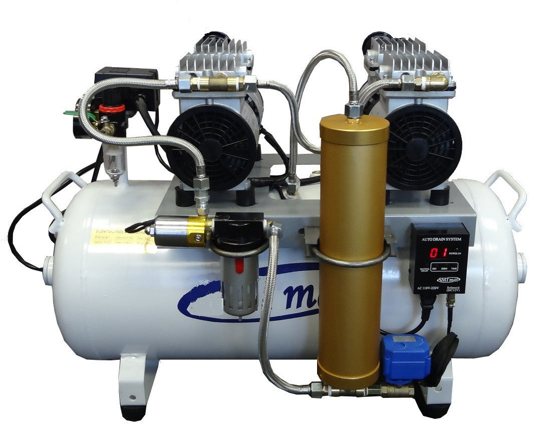 MSV12 Titan OilLess Dental Air Compressor