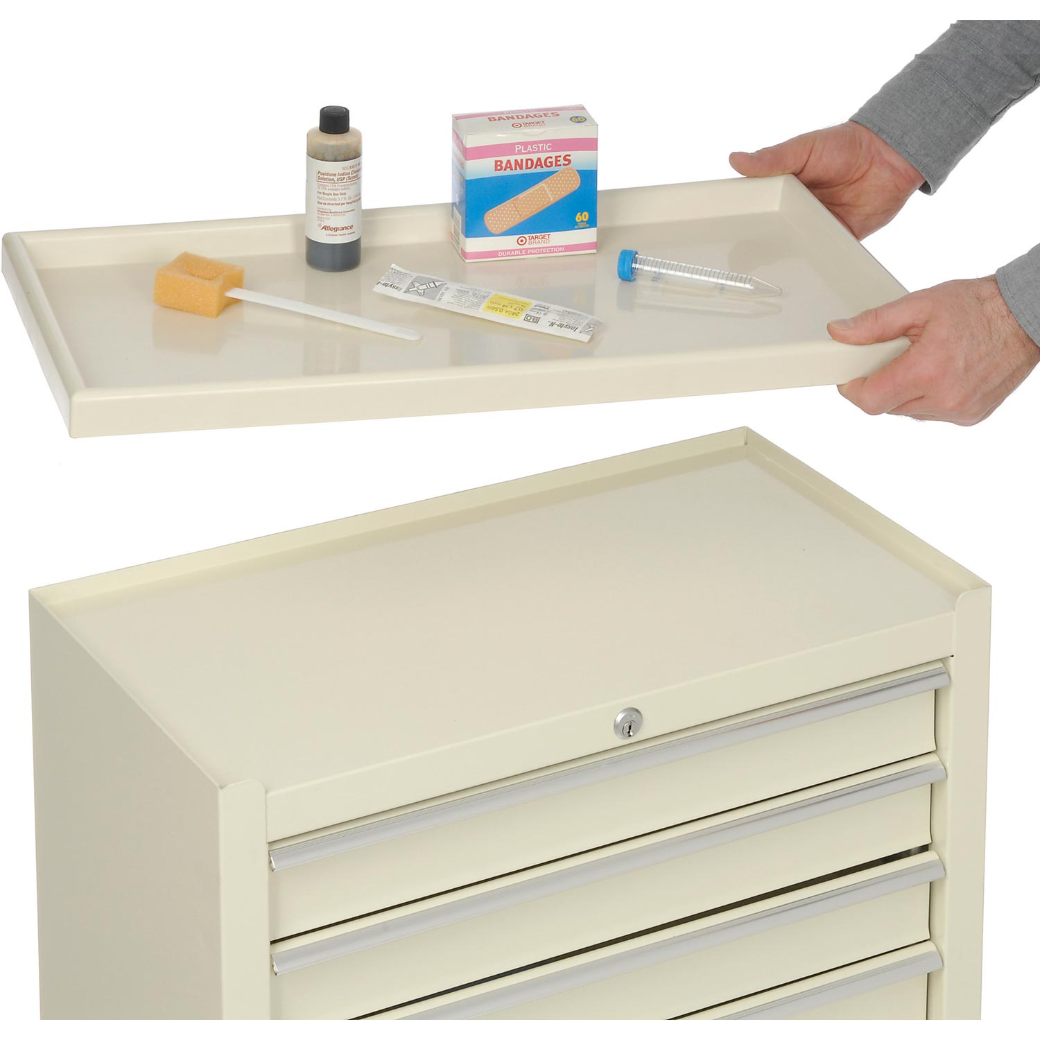 Classic 5 Drawer Medical Dental Cart