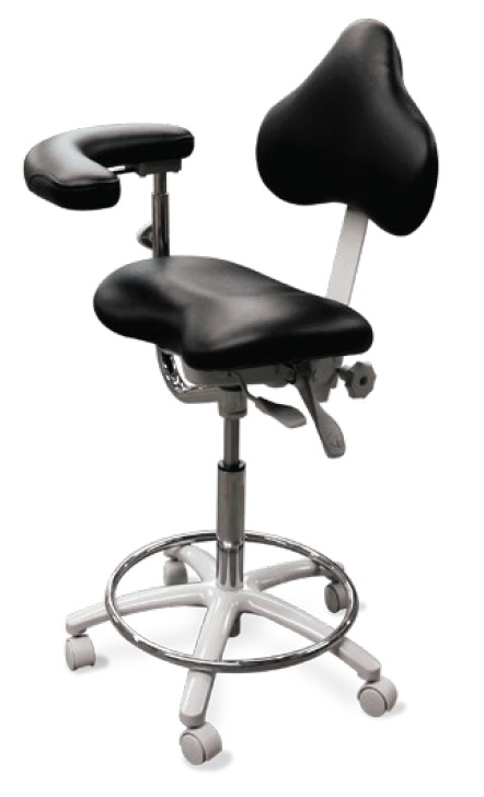 Model 2025 Dental Assistant Stool Contoured seat