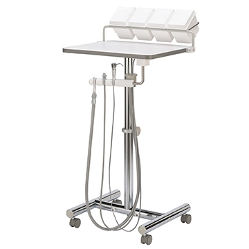 DCI 4221 Work Surface Dental Operatory Cart