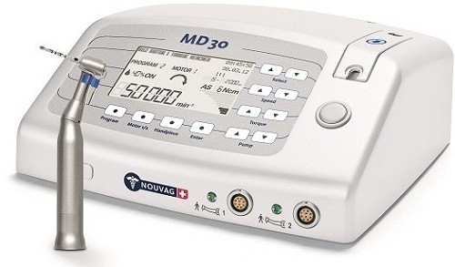 Nouvag MD-30 Fiber Optic Surgical Dental Implant Motor System