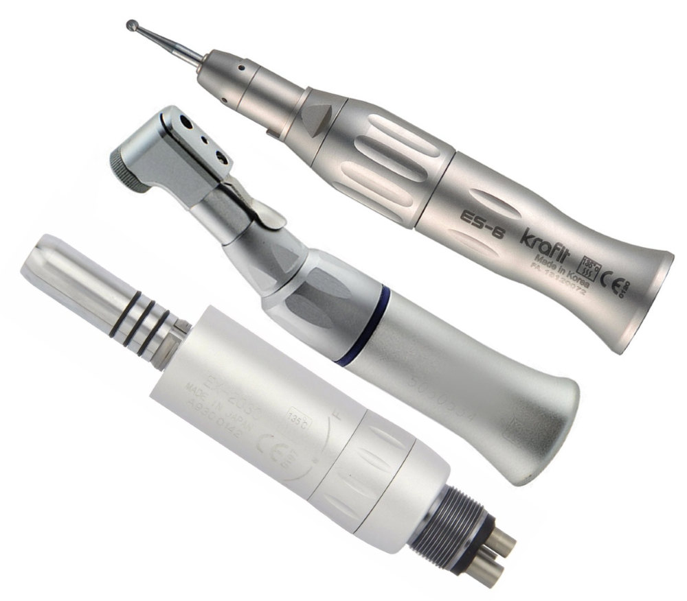 TDI Premium Dental Slow Speed E Type Handpiece System Complete