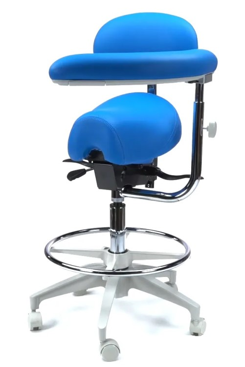 Crown Seating Durango C90SBAB Assistant Stool With Ratcheting Arm