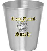 Free Dental stainless steel shot glass