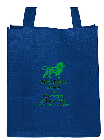 Free Dental Free Dental Blue Tote Bag