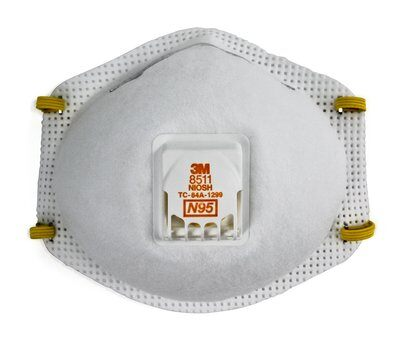 3M 8511MX N95 Niosh Approved Particulate Respirator Masks