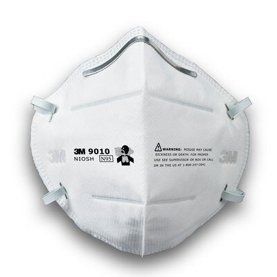 3M 9010 N95 Particulate Respirator Masks CDC Approved