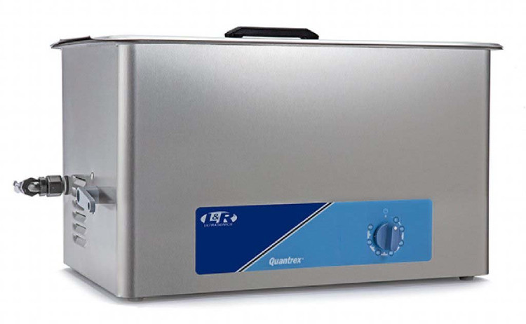 L & R Quantrex Q650 Ultrasonic Cleaner w/Timer & Drain