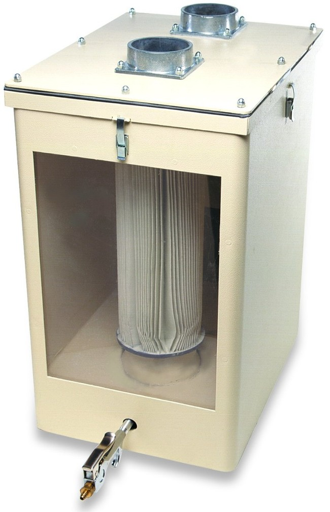 DustClear PreFilter Dental laboratory Collection System