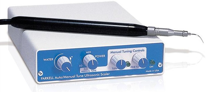 Miniaturized Clean Machine Manual/Autotune Dental ultrasonic Scaler by Parkell