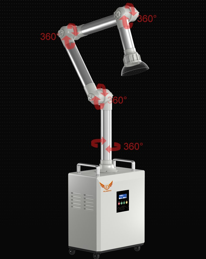 External Oral Dental Suction Vacuum Unit, to fight Covid 19