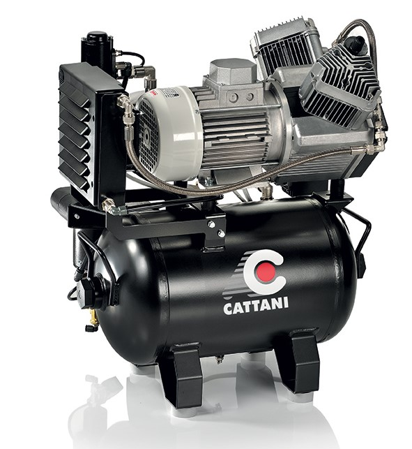 Cattani Oil Free Dental Air Compressor