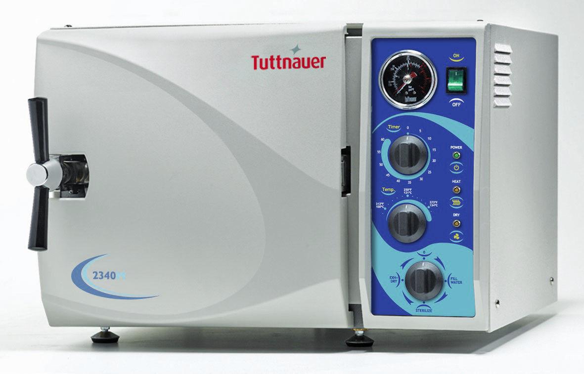Tuttnauer 2340M Steam Autoclave