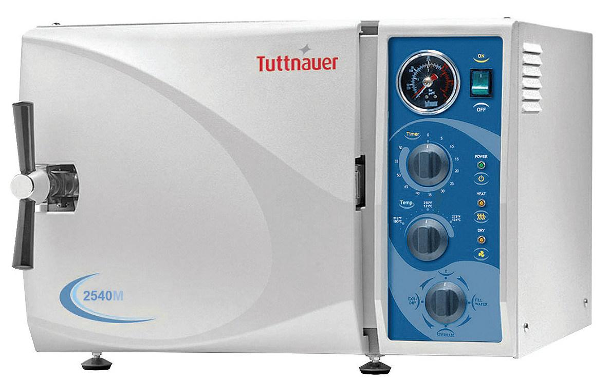 Tuttnauer 2540M Steam Autoclave