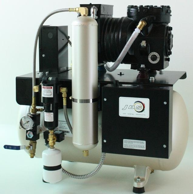 JLC Single Head oiled dental air Compressor