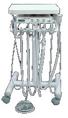 Westar 4083 Dental Delivery Cart