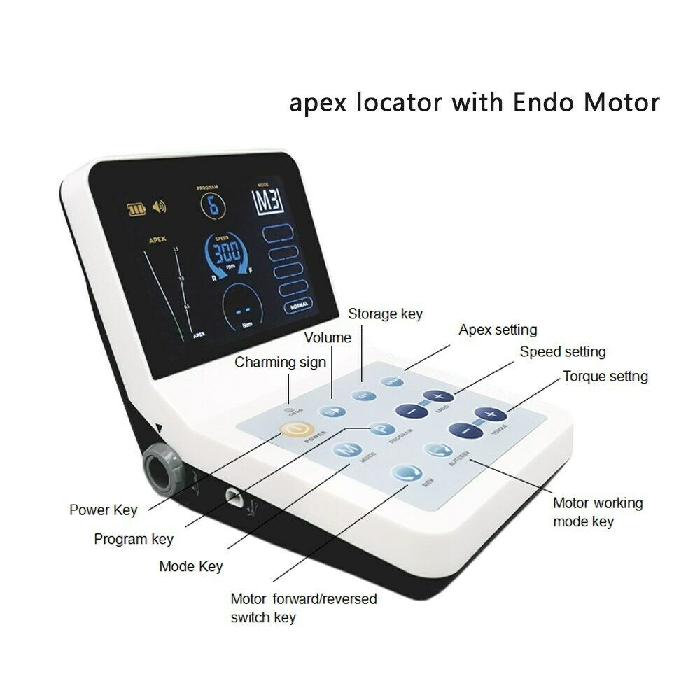 RootPro Endo Motor Apex Locator with Low-Speed Handpiece