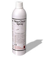 nou-clean spray for implant handpieces