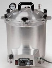 50X All American Tattoo Steam Sterilizer