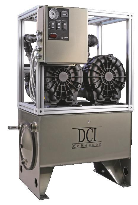 DCI DV1203 Dry Vacuum System