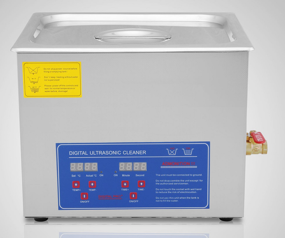Pro +  15 liter Digital Ultrasonic Cleaner