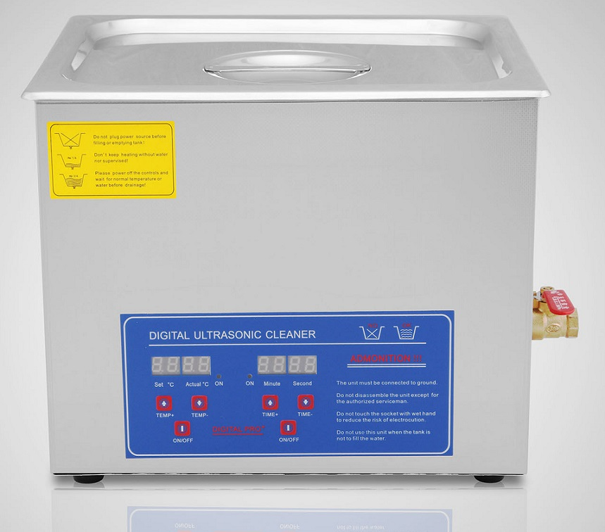 Pro + 10 liter Digital Ultrasonic Cleaner with heater