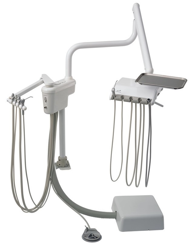 Engle E300 Over Patient Dental Delivery System w/ Assistant's Arm