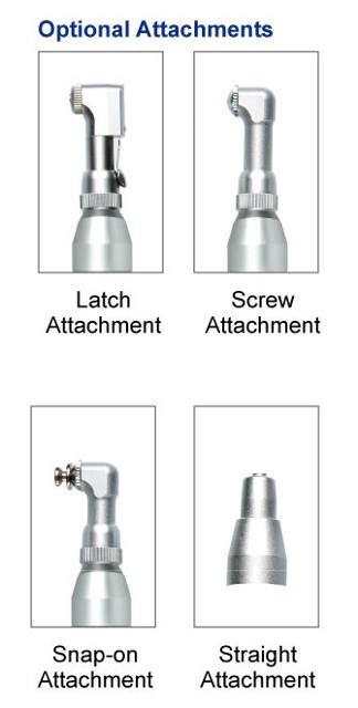 MicroMax Cordless Prophy Hygiene Handpiece replacement heads
