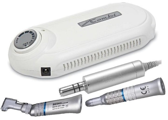 Combi Portable Dental Polisher / Hair Transplant or Nail Salon Micro Motor