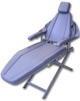 DNTLworks Supreme Patient Portable Dental Chair With Scissor Base