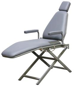DNTLworks Basic Patient Portable Chair With Scissor Base