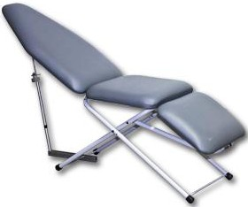 UltraLite Portable Patient Chair with Scissor Base