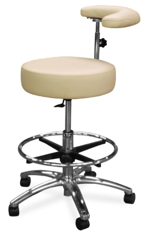 Model 1067-R Dental Assistant Stool