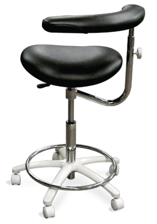 Model 2065 Dental Assistant Stool Contoured Seat