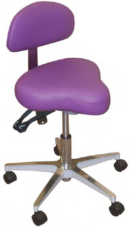 Model 1150 Hygienist Stool by Galaxy