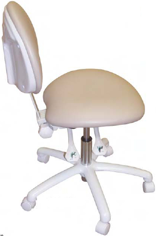 Model 2010  Doctor Stool Contoured Seat by Galaxy