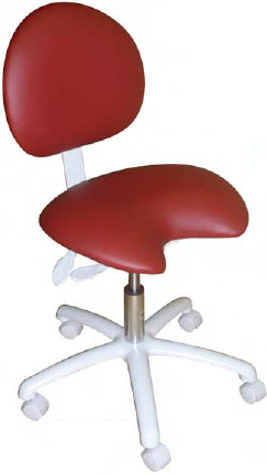 Model 2011  Doctor Stool Contoured Seat by Galaxy
