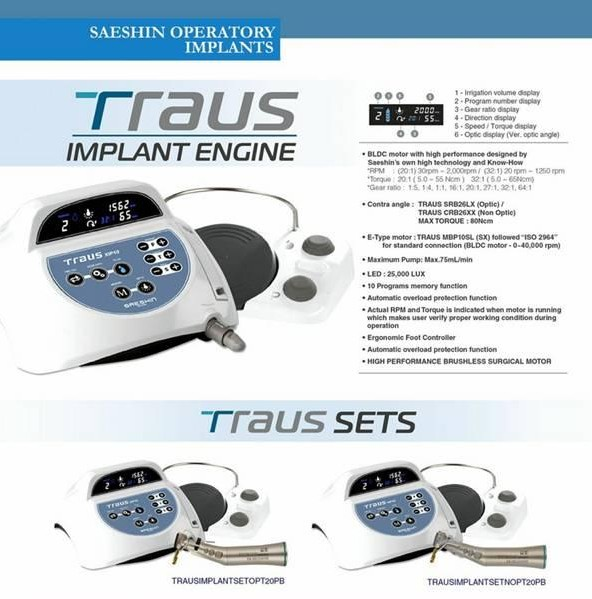 Traux Implant Motor System